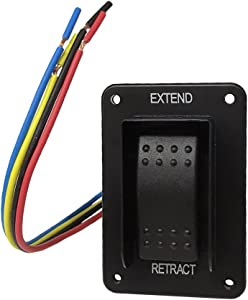 Lippert Components Power Stabilizer Switch - Black