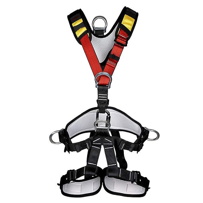 Cinturón De Seguridad De Trabajo Aéreo Escalada En Roca Cuerpo De ...