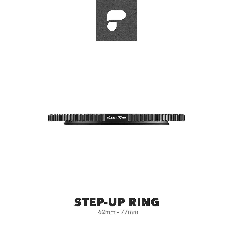 PolarPro Anti-Reflective Brass Step-Up Ring 72mm  77mm