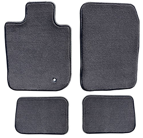GG Bailey D3800A-S1A-CC-CHAR Two Row Set Custom Fit Floor Mats For Select Toyota FJ Cruiser Models - Polypropylene Fiber (Charcoal) ()