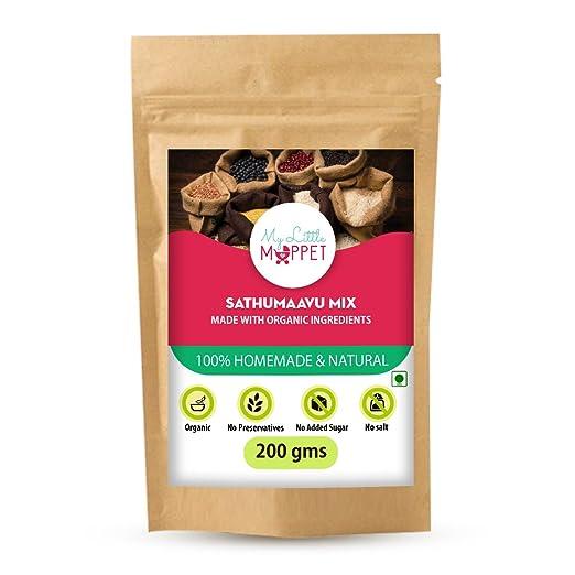 Little Moppet Foods Sathumaavu Porridge Powder (200)