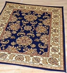 Orc rugs 18665 alfombra color azul hogar for Alfombras comedor amazon
