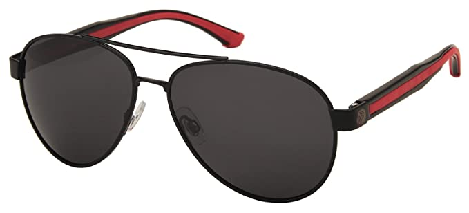 df9642702493 Margaritaville Changes in Latitudes Polarized Aviator Sunglasses, Black, 55  mm
