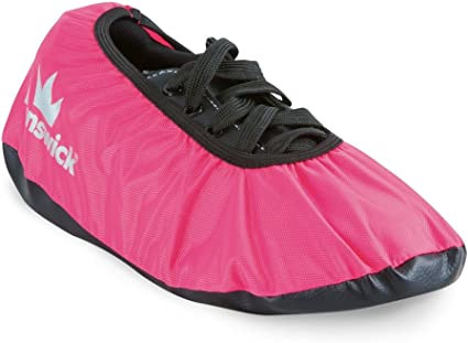 SaVi Bowling Shoe Protector Covers Pair Black//Pink/_ Medium and Large Construction and Durability