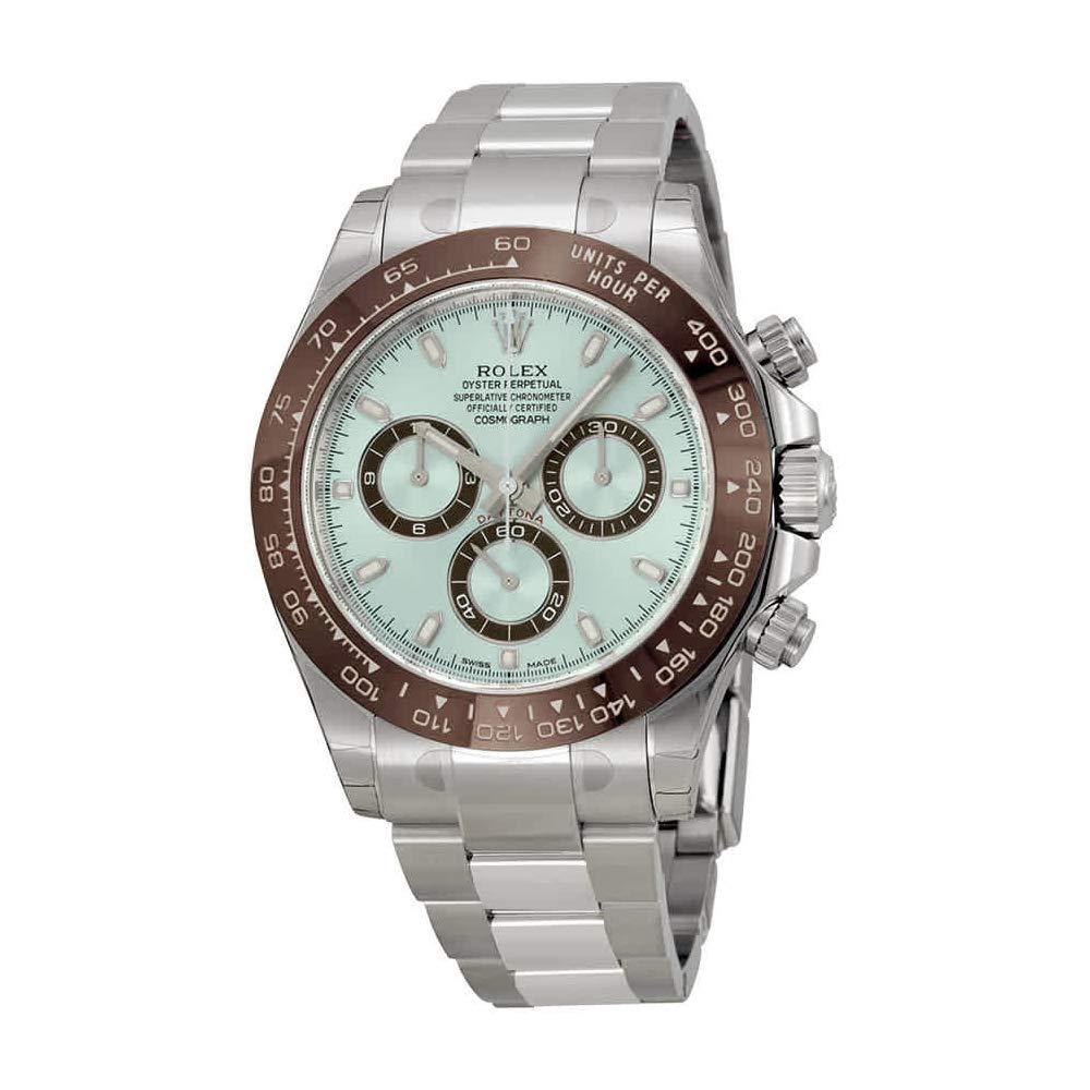 81dc45e1b89 Amazon.com  Rolex Cosmograph Daytona Ice Blue Dial Platinum Mens Watch  116506IBLSO  Watches