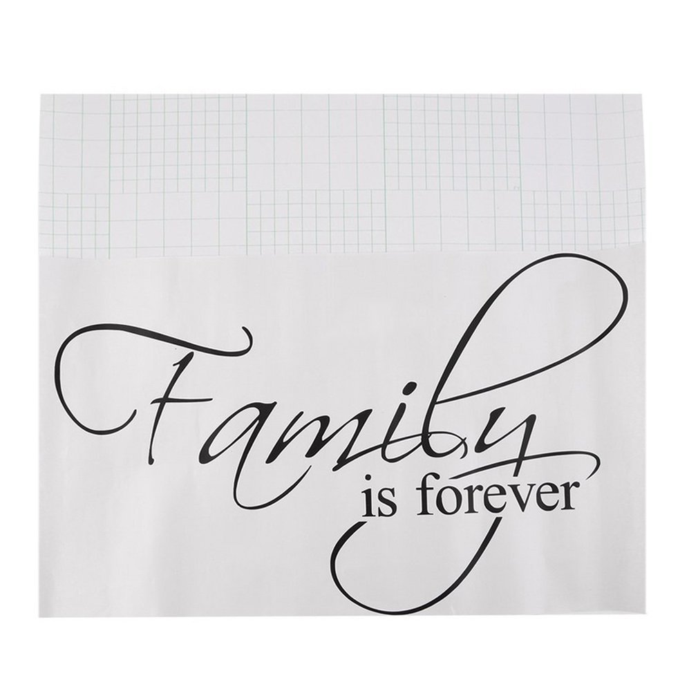 DDGE DMMS Family is Forever Removable Art Vinyl Wall Stickers Decal Mural Home Decor For Home Kitchen Decoration