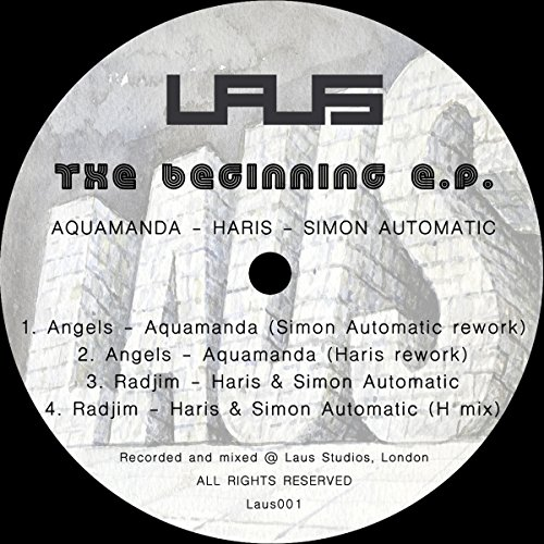 Aquamanda / Haris Custovic* Haris·& Simon Automatic - The Beginning EP