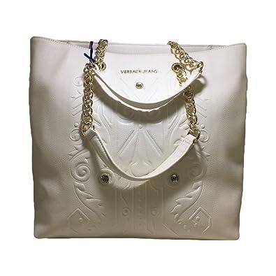 bddcb2ae3c Versace Jeans Women's Shoulder Bag white BIANCO: Amazon.co.uk: Shoes & Bags