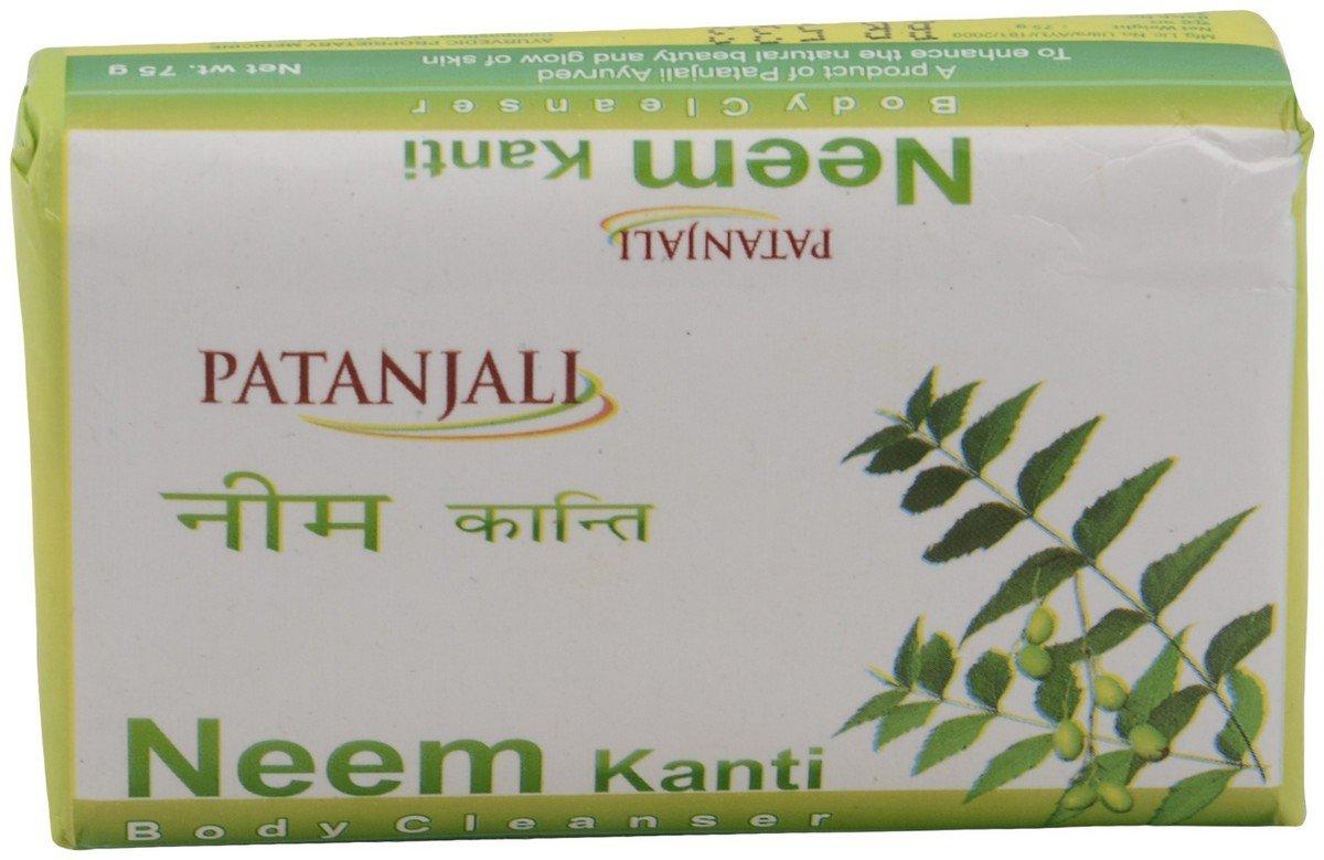 Patanjali Neem Kanti Body Cleanser Soap