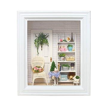 TOYMYTOY DIY Photo Picture Frame Sunshine Cabin Design Creative ...