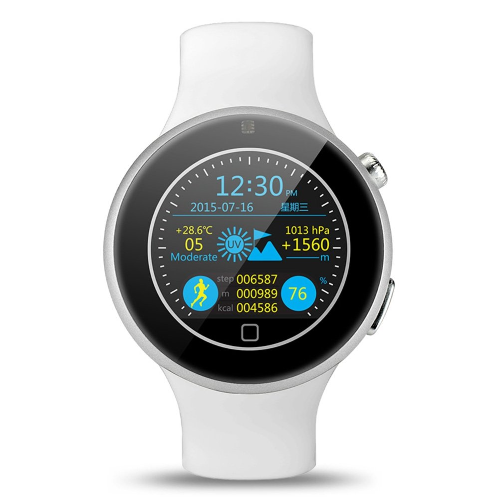 gearbest C5 aiwatch Bluetooth SmartWatch de deportes impermeable con cámara a distancia Heart Rate Monitor/sueño: Amazon.es: Relojes