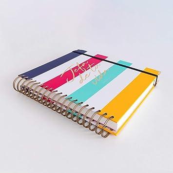 Amazon.com : 19-20 Daily Diary Head Stripes Large : Office ...