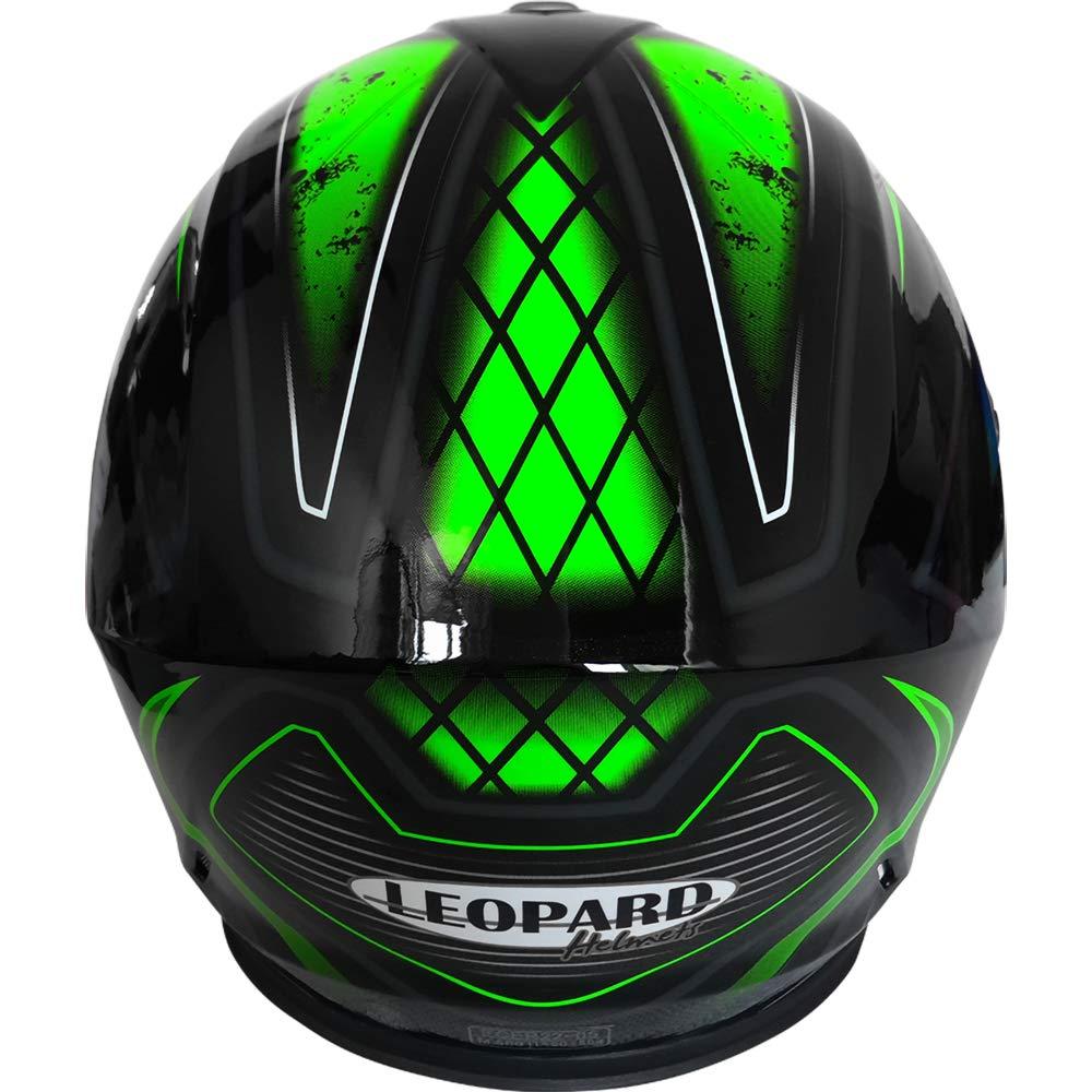 Leopard LEO-828 Doble Visera Casco Moto Integral ECE Homologado para Motocicleta Bicicleta Scooter Cascos de Moto Integrales Mujer y Hombre
