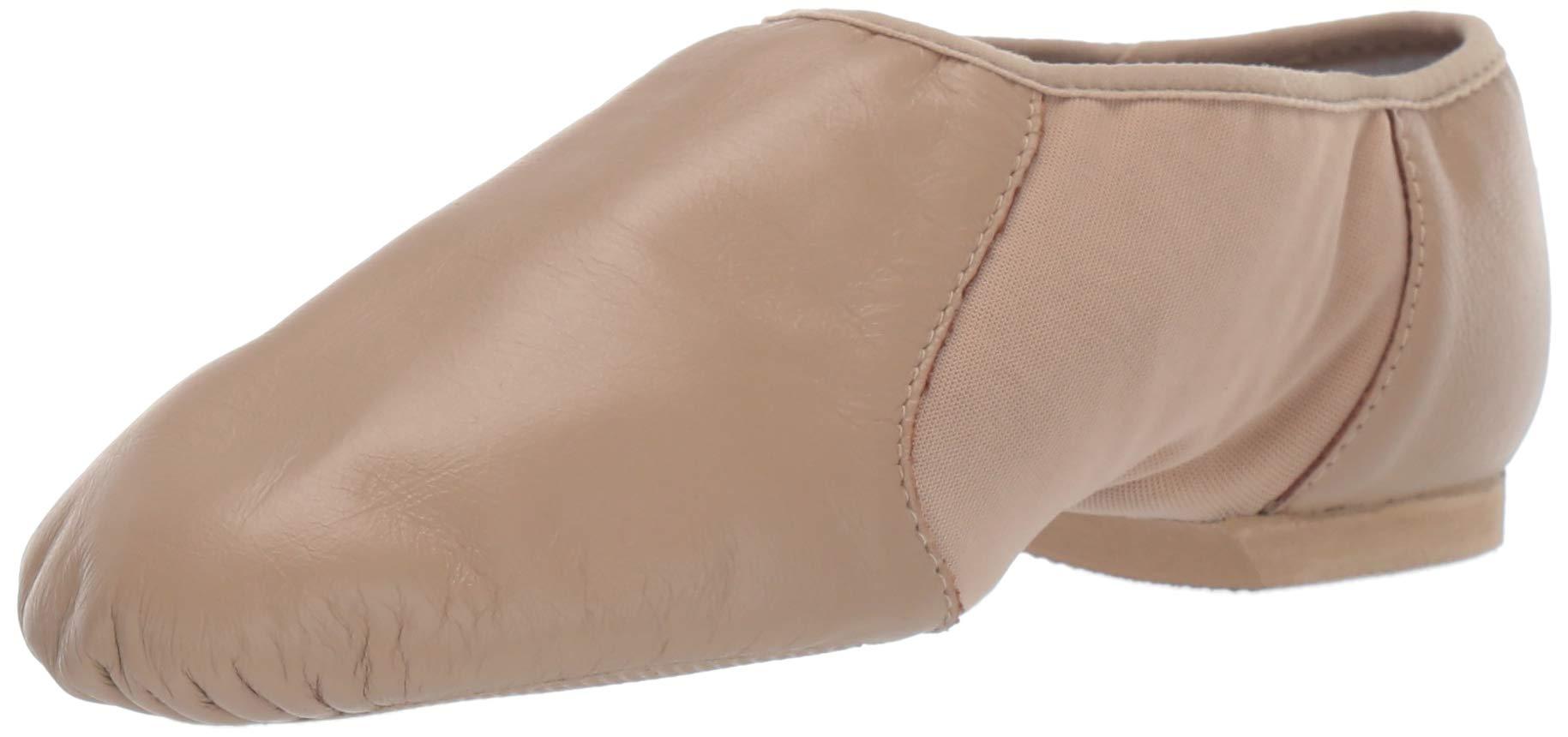 Bloch Neo-Flex Jazz Shoe S0495L, Taupe, 10 M US by Bloch