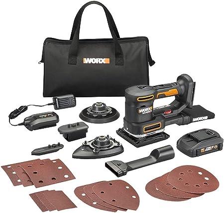 Amazon.com: WORX WX820L - Lijadora de 20 V: Home Improvement
