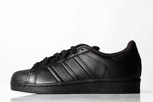 best sneakers d0b22 d0ef5 adidas Superstar Foundation Core all Black - Sneaker Nera Bassa
