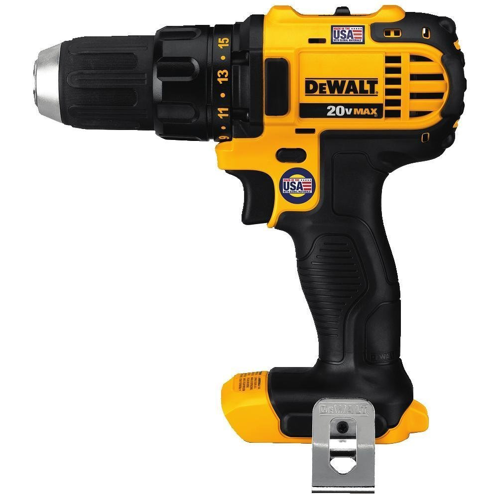 DEWALT DCD780BR 20V MAX Lithium Ion Compact Drill / Drill Driver TOOL ONLY (Certified Refurbished) by DEWALT