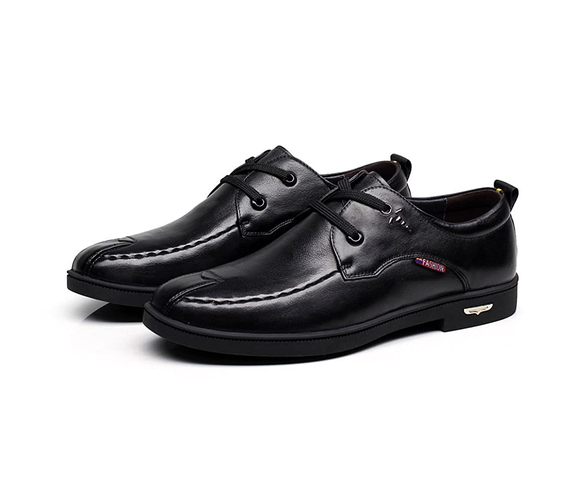 GTYMFH Schuhe Herren Casual Business Schnürschuhe Lässig Plateau Schnürschuhe Business Tragbar Herrenschuhe 6c29c9
