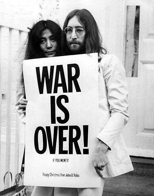 JOHN LENNON *WAR IS OVER* 11x17 REPLICA POSTER *CHRISTMAS*