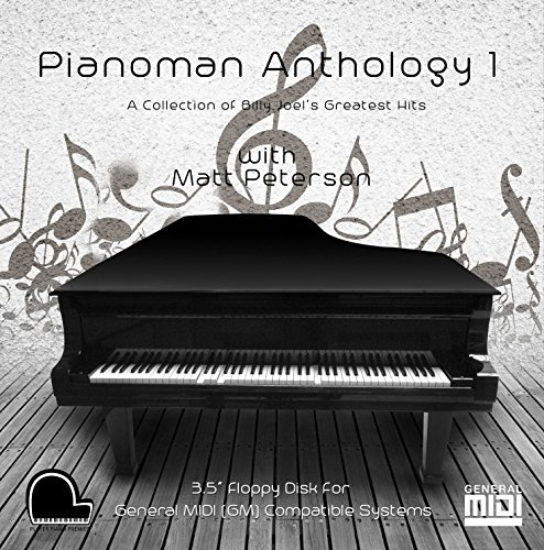 Piano Man Anthology 1 - Billy Joel Collection - General Midi