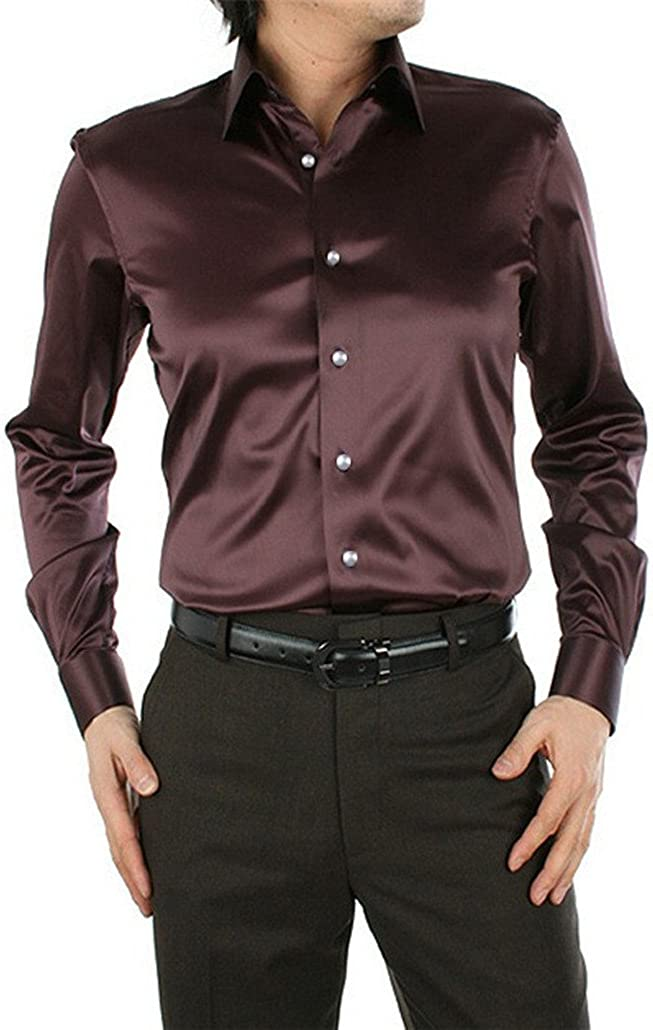 Men Shirt Fashion Long Sleeve Couples Shirt Wedding Dress Plus ...