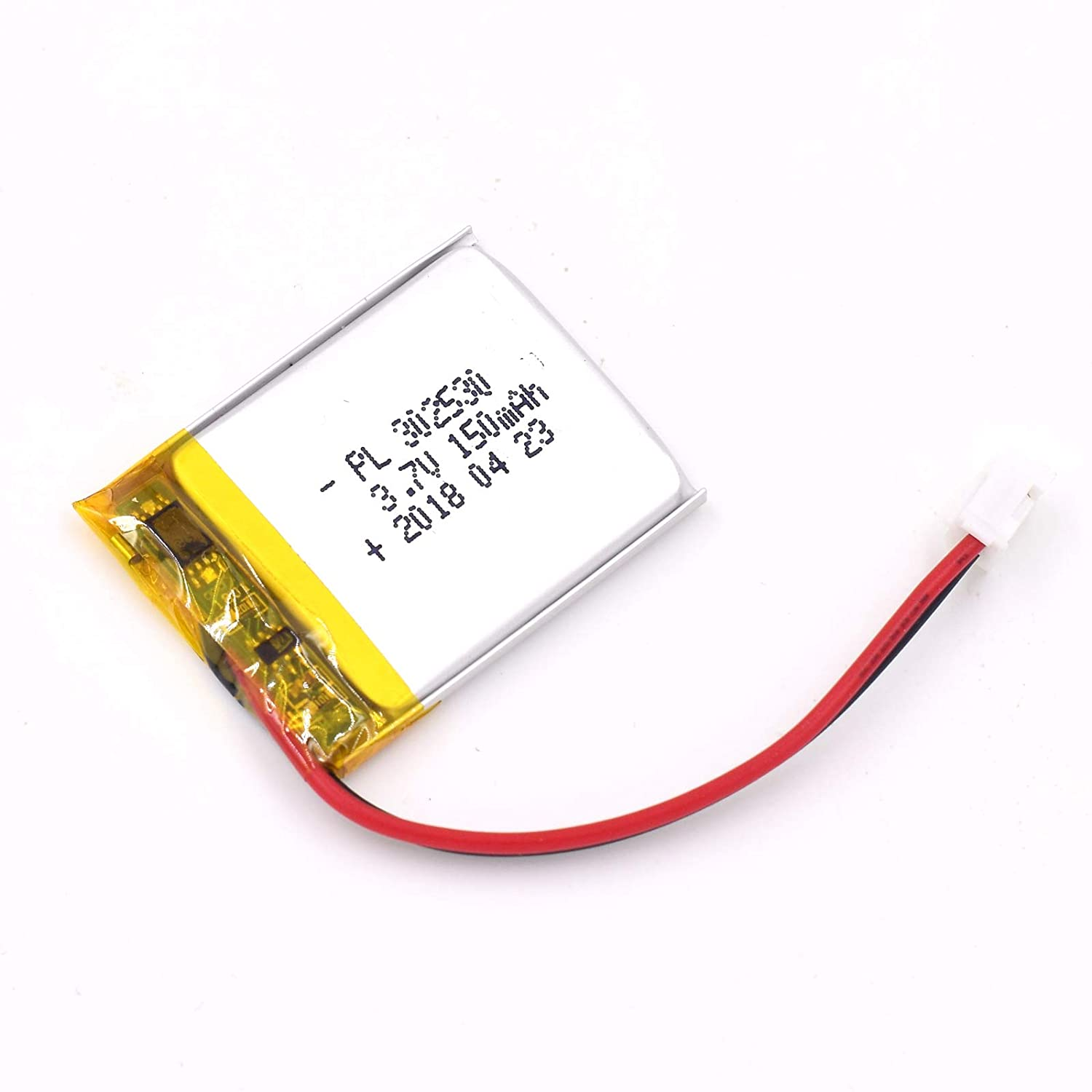 3.7V 150mAh 302530 Lipo battery Rechargeable Lithium Polymer ion Battery Pack with JST Connector