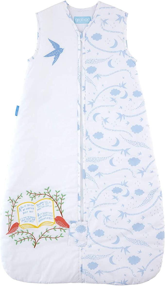 1.0 Tog The Gro Company Rob Ryan Summers Day Grobag Baby Sleeping Bag 6-18 Months