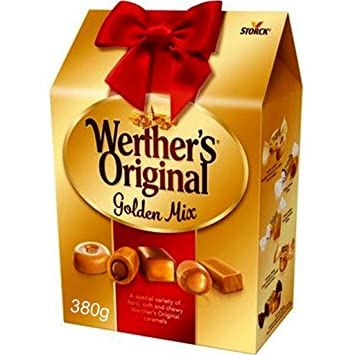 Amazon com : Werthers Original Golden Mix Carton 340g pack 8