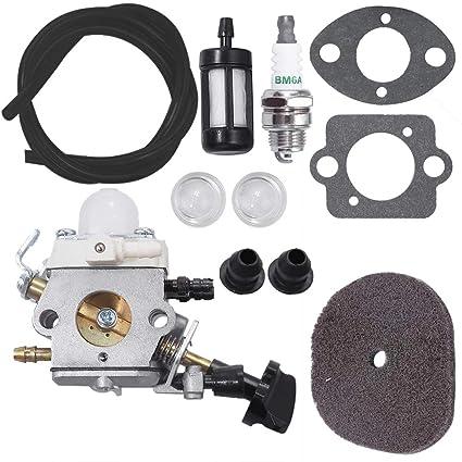 Amazon.com: Carburador para soplador de hojas Stihl SH56 ...