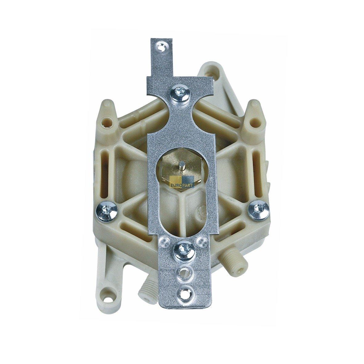 Bosch Siemens 10004109 Gehäuse-Unterteil mit Gummimembrane Heißwassergerät