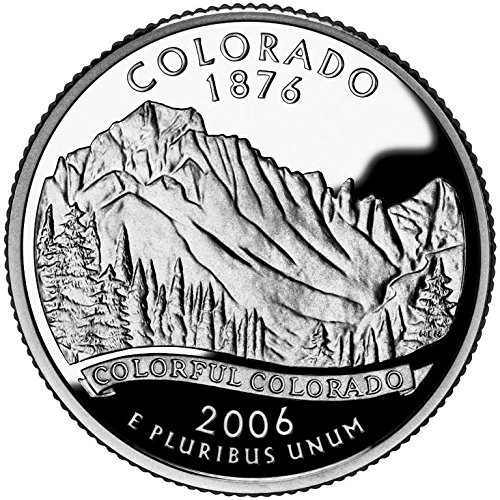 2006 Colorado – P State Quarter Roll