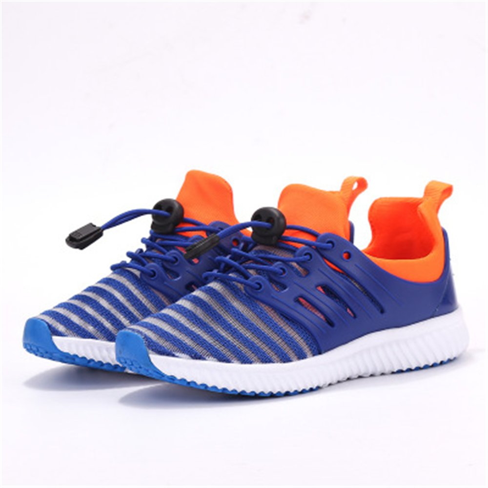 Rose town Kids Casual Lightweight Breathable Sneakers Easy Walk Sport Shoes
