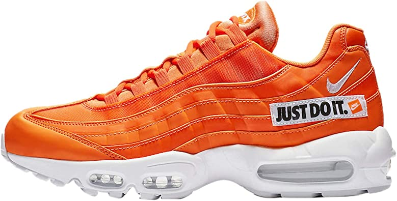 Nike Air MAX 95 Se, Zapatillas de Running Unisex Adulto, Multicolor (Total Orange/White/Black 800), 46 EU: Amazon.es: Zapatos y complementos