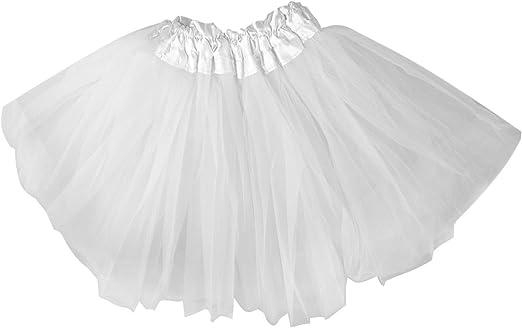 SWT blanco Neon Mini falda tutú UV --- Ideal para Halloween ...