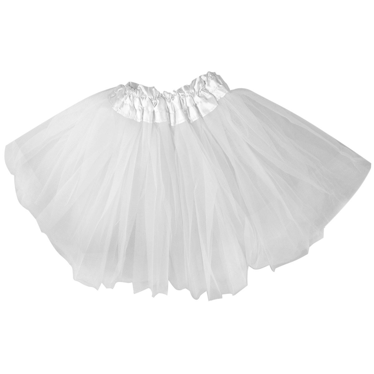Chinkyboo Fashionable Fancy Dress Kids Girls Tutu Skirt Dancewear Princess Chiffon White Amazoncouk Toys Games