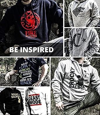 100/% Baumwolle Comedy Shirts Top Basic Print-Shirt Rundhals Totenkopf Kolben Jungen T-Shirt