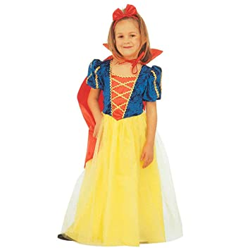19bc41beb7fc7a NET TOYS Costume Blanche Neige Mignonne Princesse Déguisement Pour Enfant  Douce Princesse Déguisement de Conte de