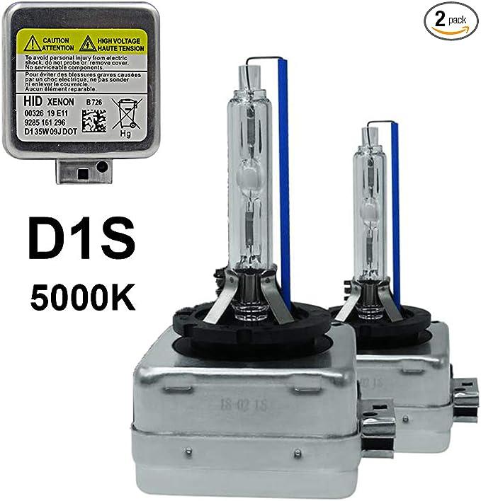 Bombillas de 1X para después mercado HID Kit De Conversión Xenon 4300K Blanco Puro 35 W Enchufe