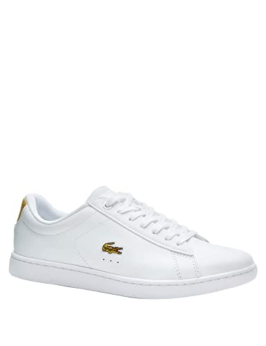 uk cheap sale new design performance sportswear Lacoste, Carnaby Evo 219 1 White 37SFA0018, Baskets Blanches pour Femmes