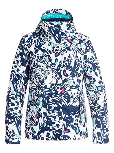 Roxy Womens Jetty Jacket, Butterfly, Small