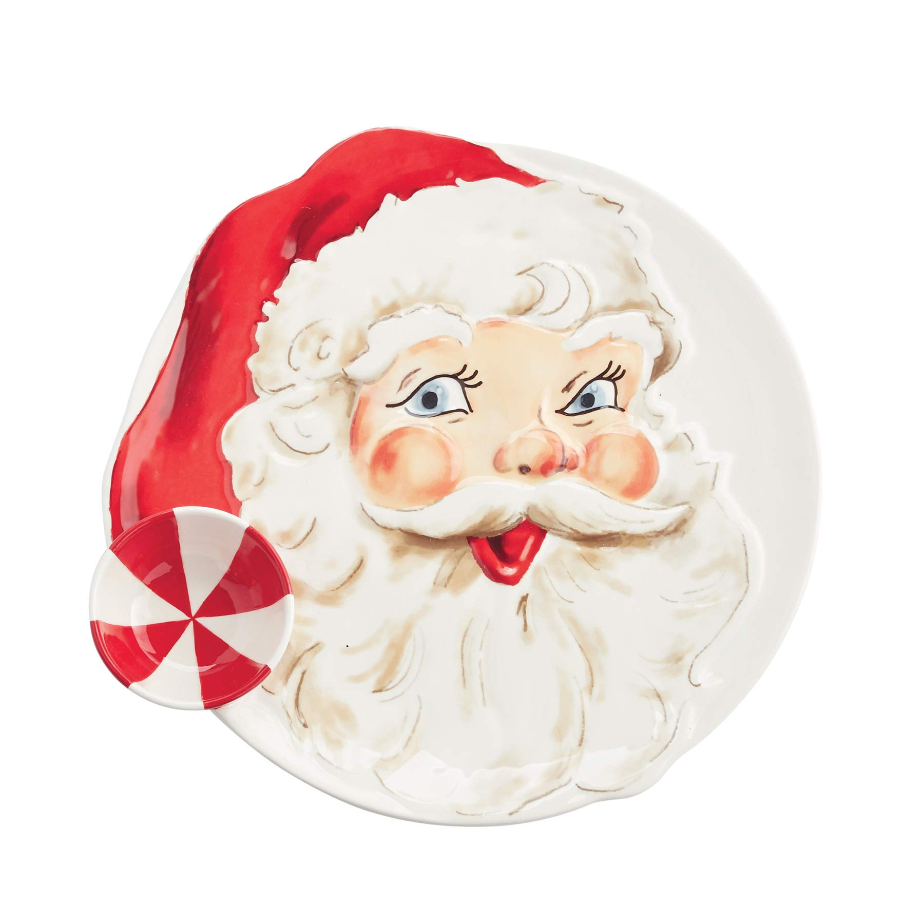 Mud Pie Santa Chip N' Dip Server