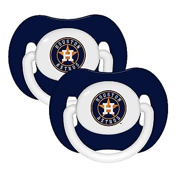 Astros Symbol >> Amazon Com Baby Fanatic Pacifier 2 Pack Houston Astros