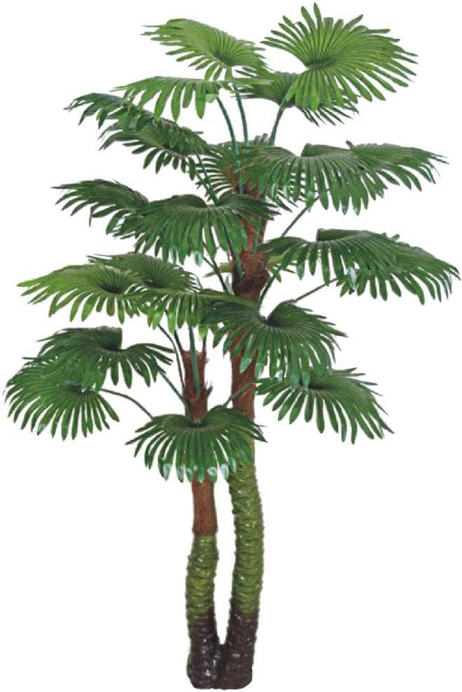 Palmier Tallipot Rônier Plante Arbre Artificielle Artificiel 160cm Decovego