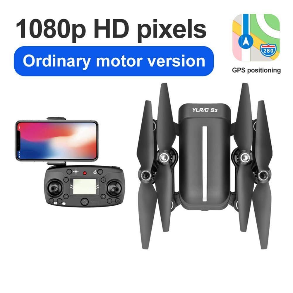 5.8G Telecomando Brushless Quadcopter GPS Surround Drone pieghevole Punto fisso Follow Back Antenna con 5G trasmissione grandangolare fotocamera 1080P