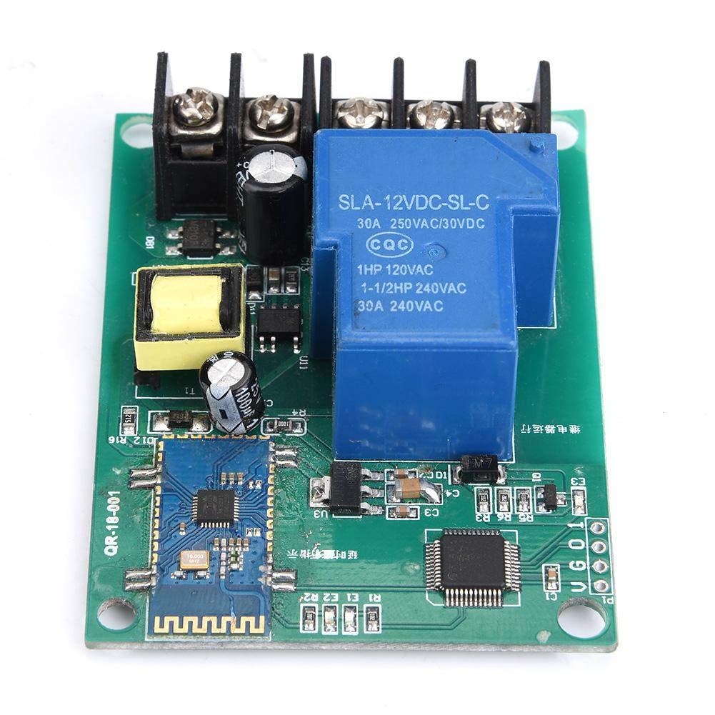110-250 V AC 1 Kanal Bluetooth Relaismodul Fernbedienung Timing Schalter Drahtlose Schaltplatine Relay Module Bluetooth