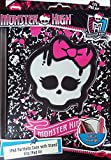 Monster High Ipad Portfolio Case with Stand - Fits Ipad Air