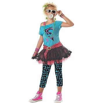 80s Valley Girl Kids Costume  sc 1 st  Amazon.com & Amazon.com: 80s Valley Girl Kids Costume: Toys u0026 Games
