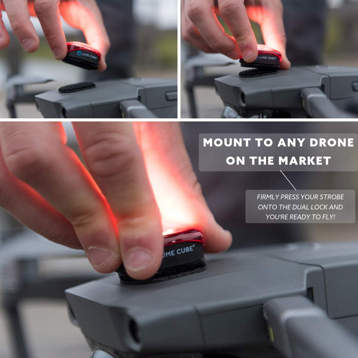 Lume Cube Strobe - Anti-Collision Lighting for Drone (1-Pack) by LUME CUBE (Image #3)