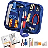16 piece watch repair kit - Watch Repair Kit Professional - Complete Tool Set with Watchmaker's and Jewelers