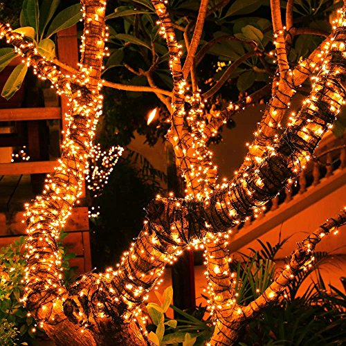 Unique Indoor String Lights : LUCKLED Saline 200 LED String Lights, 72ft Warm White Fairy - Import It All